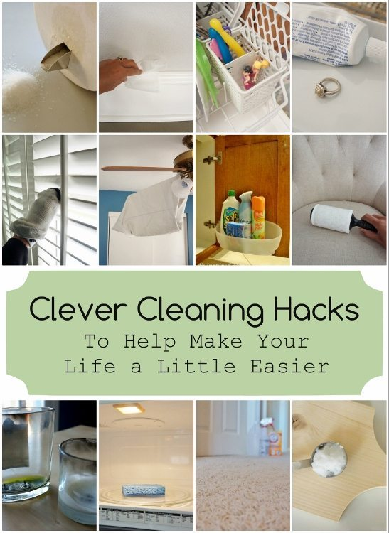 Clever Cleaning Hacks