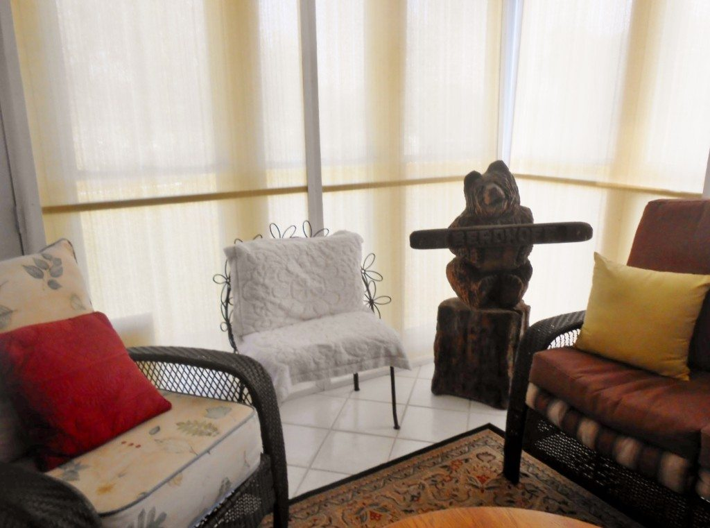 DIY Sunroom Window Coverings Tutorial