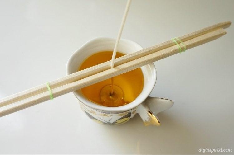 DIY Teacup Candles Step By Step