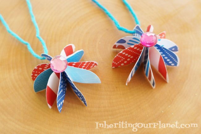 paper kids necklace craft crafts c for activities beaded and indian