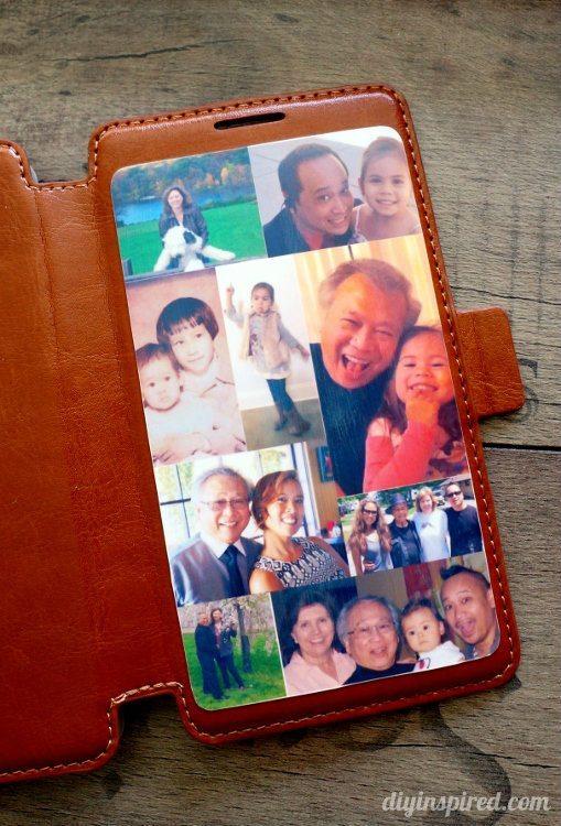 Mod Podge Leather Phone Case