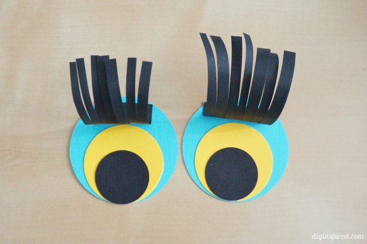 Paper Finger Puppet Craft - Preschool