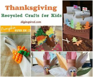 Thanksgiving Recycled Crafts for Kids