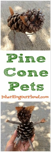 Upcycled Pine Cone Pets (219x650)