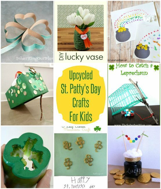 Upcycled-Saint-Patrick's-Day-Crafts-for-Kids