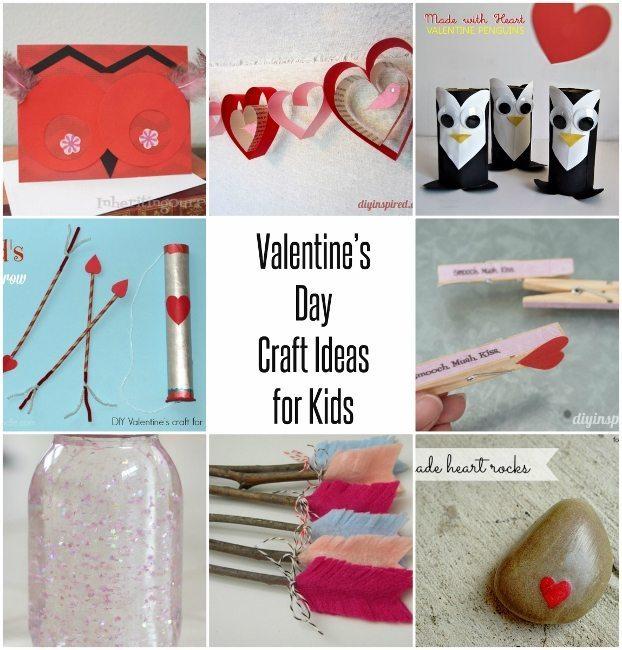 Valentine S Day Craft Ideas For Kids Diy Inspired