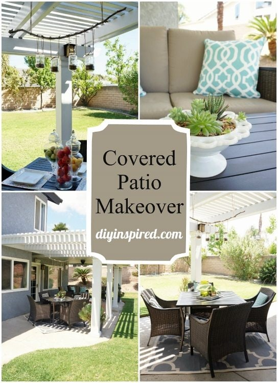DIY Inspired Patio Makeover DIY Inspired