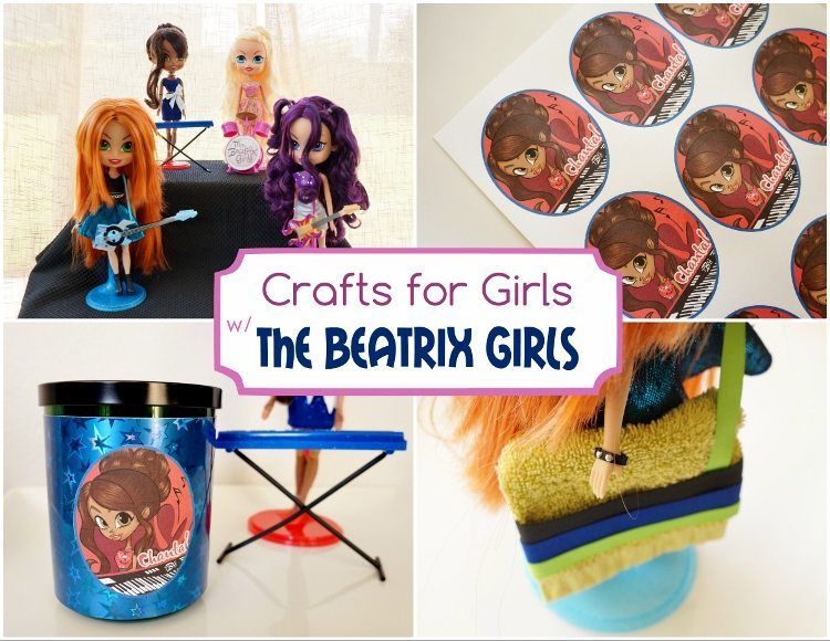 Crafts for Girls with The Beatrix Girls -DIY Inspired
