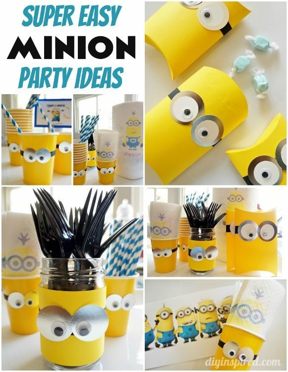 DIY Minion Party Ideas DIY Inspired