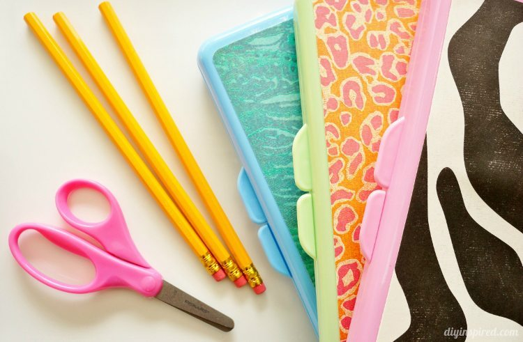 DIY Upcycled Pencil Box
