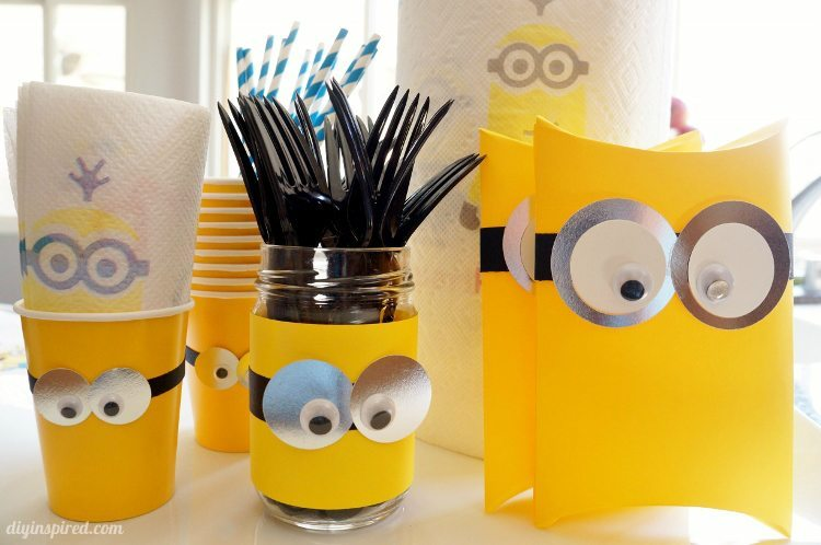 Easy DIY Minion Party Ideas