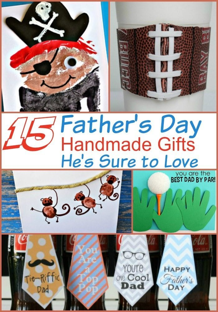 Father's Day Handmade Gifts He's Sure to Love