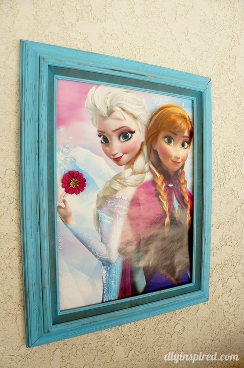 Frozen Fever Party Decor -Framed Poster
