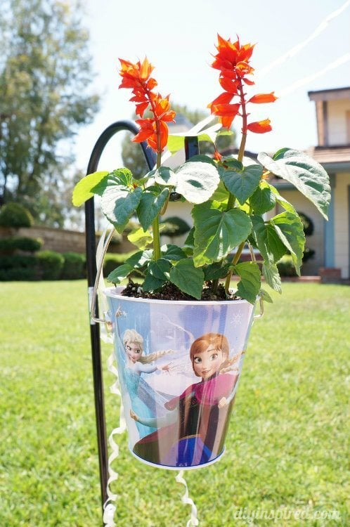 Frozen Fever Party Hanging Flowers