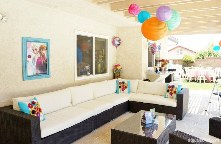 Frozen Fever Summer Birthday Party