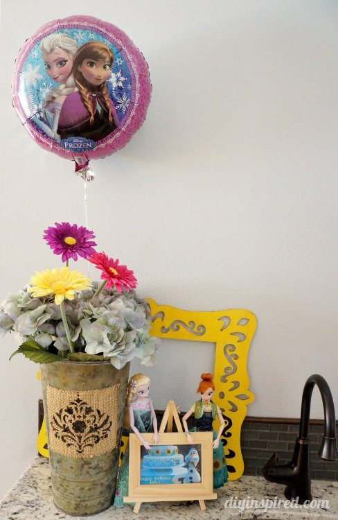Frozen fever Party Decorating Ideas