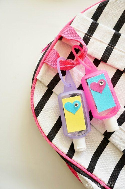 Hand Sanitizer Back to School Craft for Kids