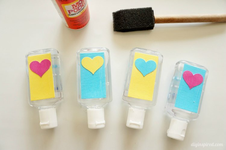 Hand Sanitizer Back to School Craft with Mod Podge