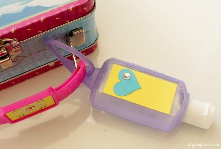 Hand Sanitizer Back to School Kids Craft