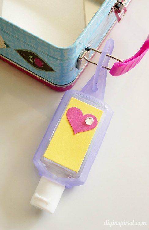 Hand Sanitizer Craft for Backpacks