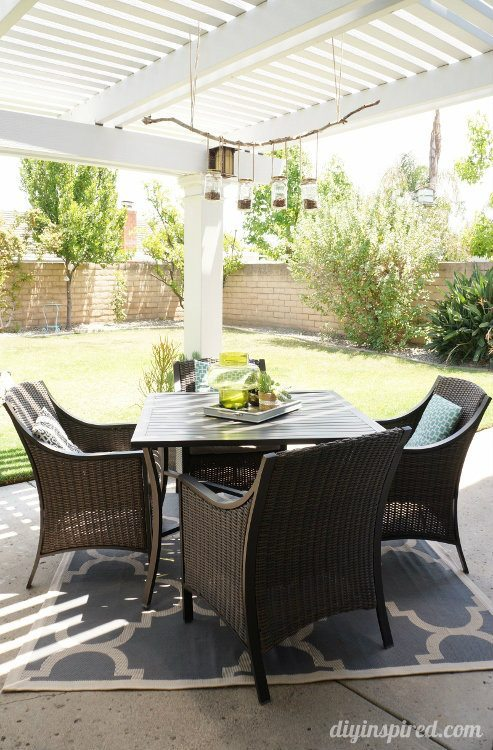 Patio Makeover Dining Room Table