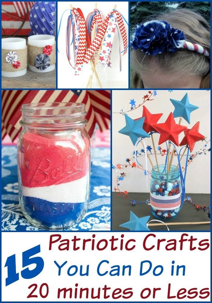 Patriotic Crafts You Can Do in 20 minutes or Less