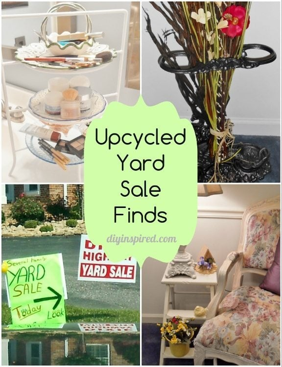 Upcycled Yard Sale Finds