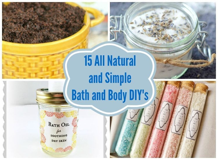 All Natural DIY Bath and Body Products