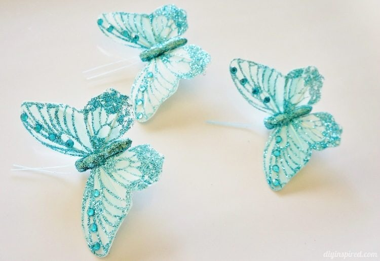 Blue Butterflies for Cinderella Movie Party