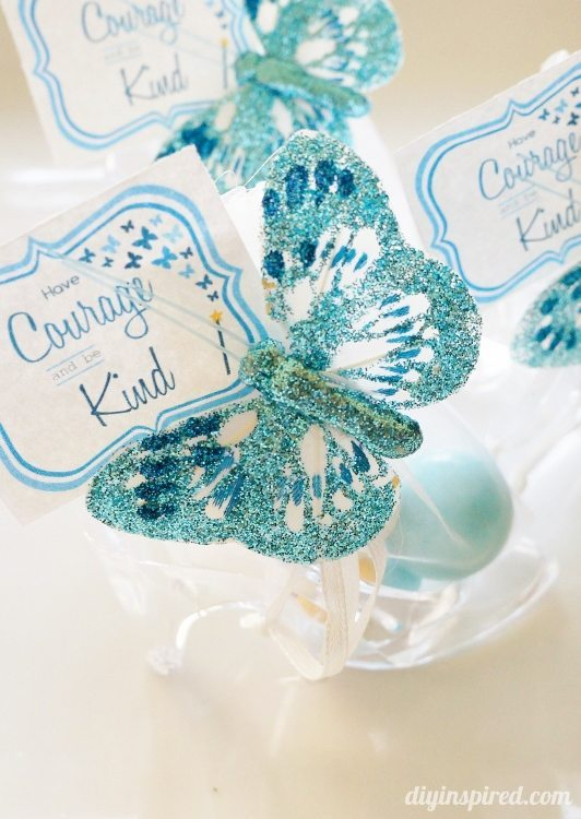 Cinderella 2015 Movie DIY Party Favors