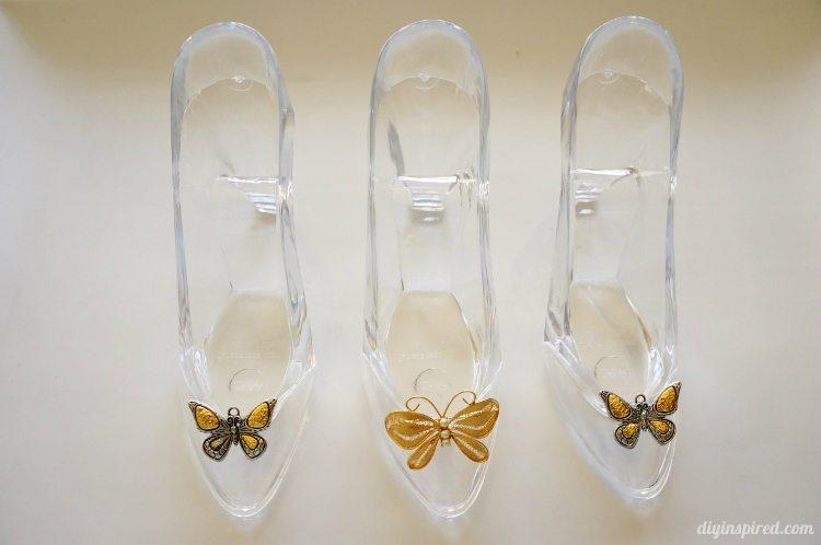 Cinderella Movie Butterfly Glass Slipper