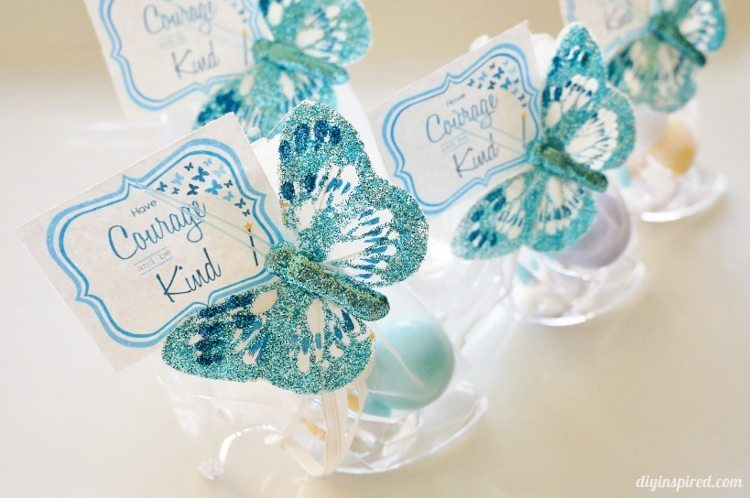 Cinderella movie party favors with printables diy inspired