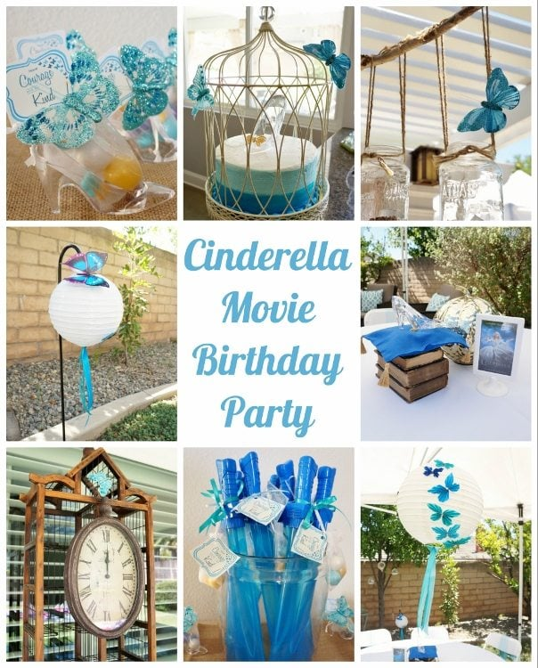 Cinderella Movie Party with Butterflies (2)