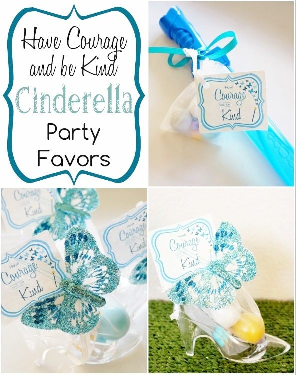 Cinderella Party Favors (Movie 2015)