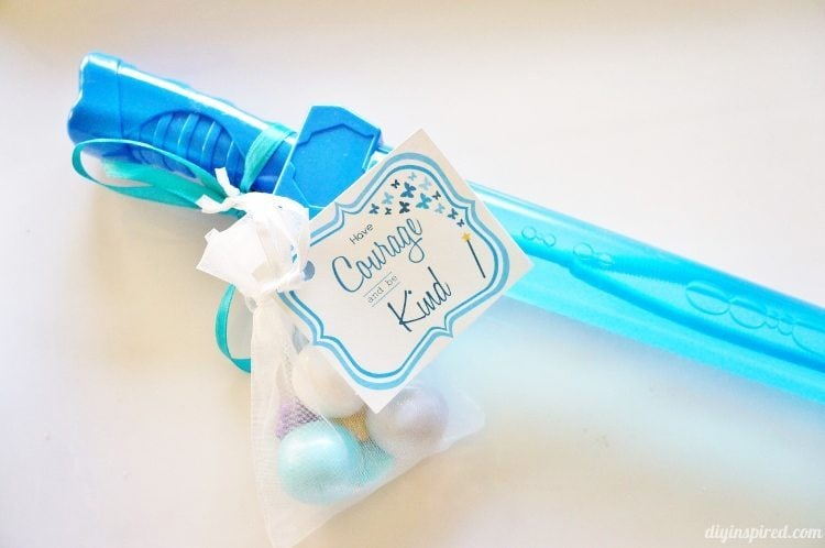 Have Courage and Be Kind Sword Party Favor for Cinderella