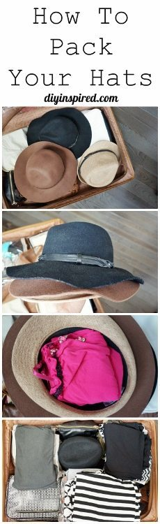 How to Pack Hats