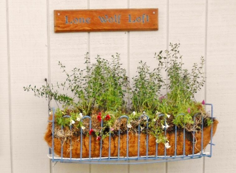 Upcycled Wire Basket