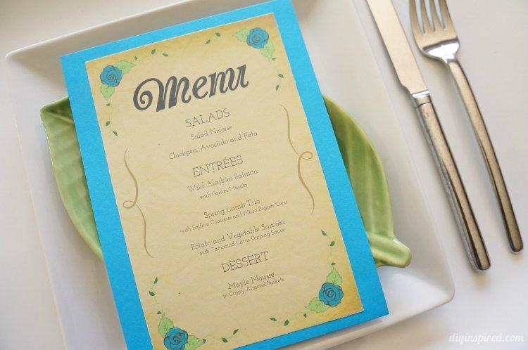 DIY Dinner Party Menu