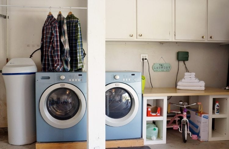 Garage Laundry Room After