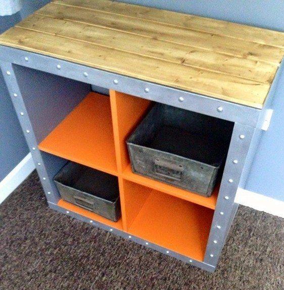 IKEA Hack Expedit Shelves Industrial Grillo Designs (1)