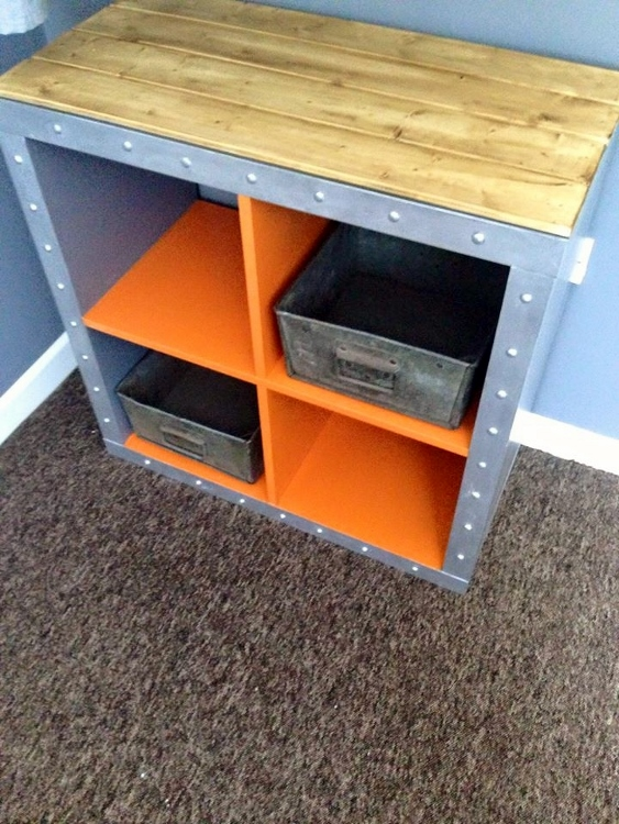 Ikea hack expedit cubes diy inspired - Etagere cube ikea expedit ...
