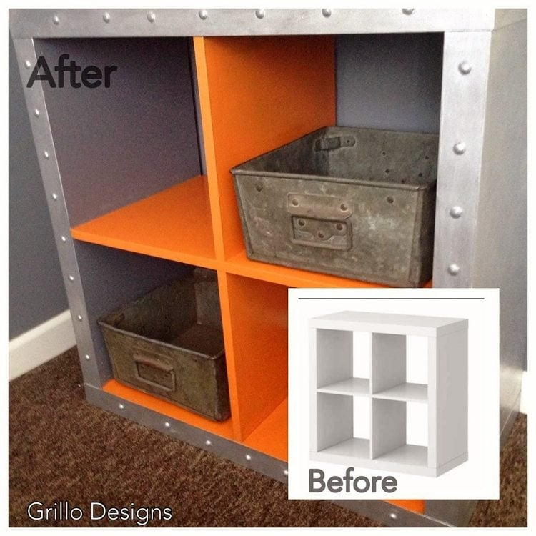 IKEA Hack Expedit Shelves Industrial Grillo Designs (3)