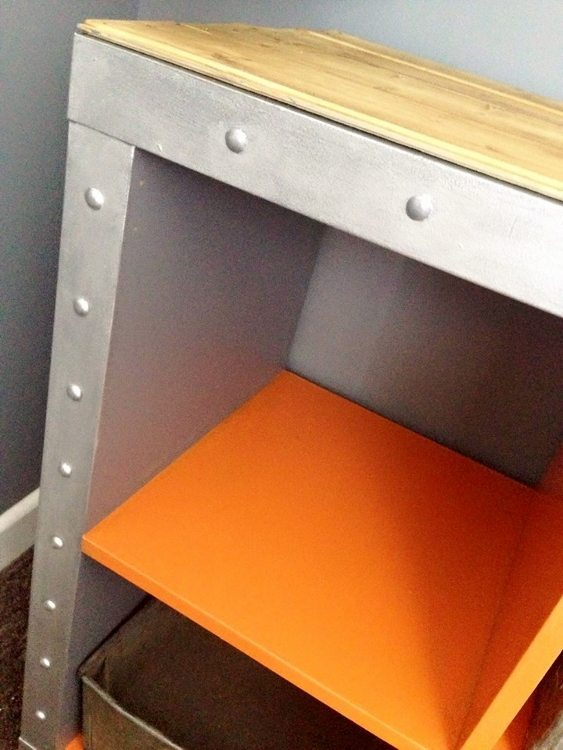 IKEA Hack Expedit Shelves Industrial Grillo Designs (4)