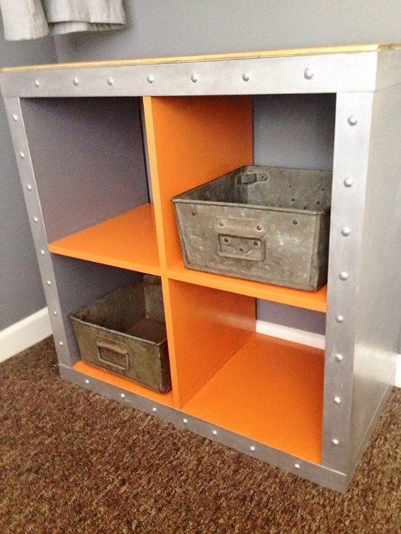 IKEA Hack Expedit Shelves Industrial Grillo Designs (5)