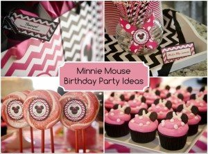 Minnie Mouse Birthday DIY Inspired