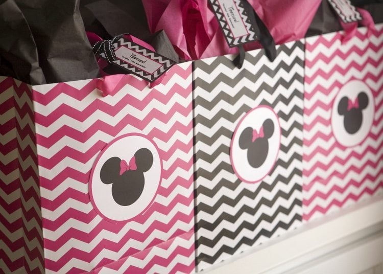 Minnie Mouse Birthday Party Favor Bags