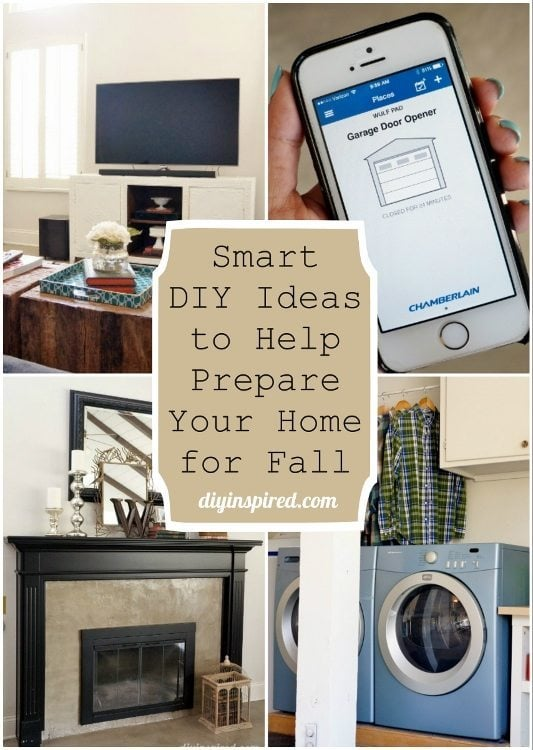 Smart DIY Ideas to Help Prepare Your Home for Fall DIY Inspired