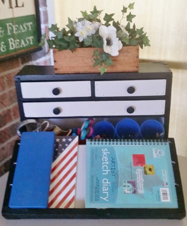 Vintage Tool Box Makeover