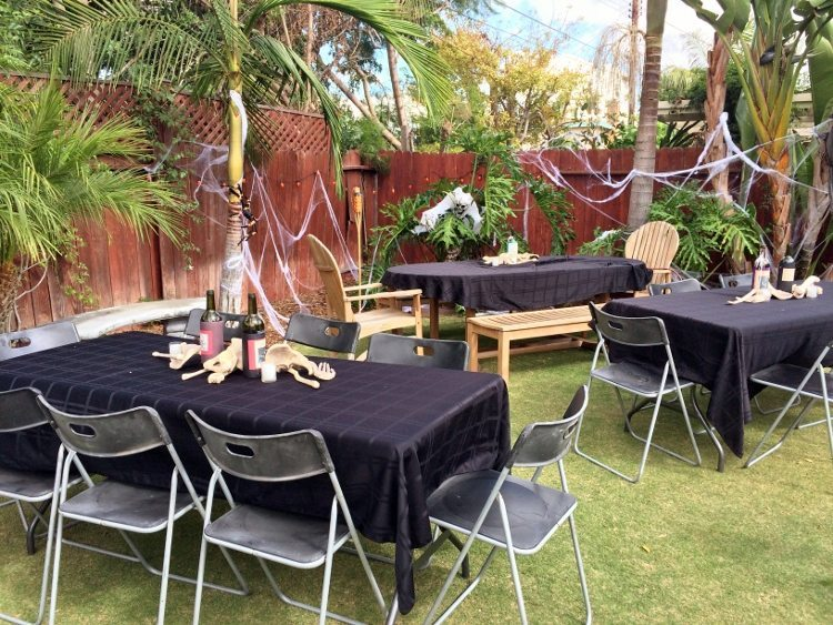 halloween party ideas outdoor 1 - Halloween Ideas For Yard