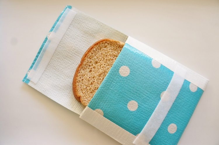 Recycle Bags Turned Reusable Sandwich Bags